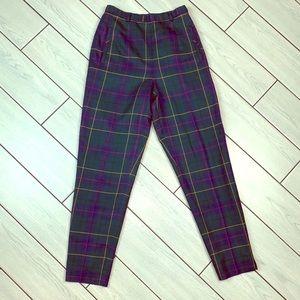Vintage Pendleton Celebration Tartan Pants 💚